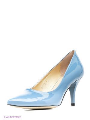 Туфли Goergo. Цвет: голубой