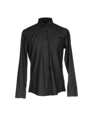 Pубашка BIKKEMBERGS. Цвет: стальной серый