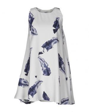 Короткое платье WESC. Цвет: светло-серый