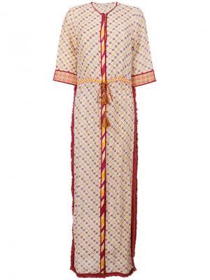 Платье Ira Talitha. Цвет: жёлтый и оранжевый