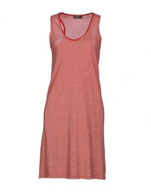 Короткое платье SOALLURE. Цвет: красный