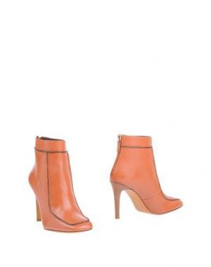 Полусапоги и высокие ботинки BRUNO MAGLI. Цвет: желто-коричневый