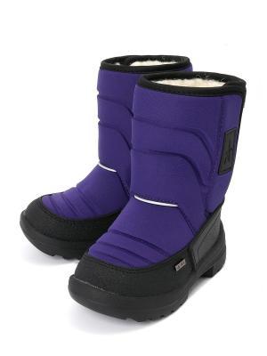 Валенки VivaKid. Цвет: фиолетовый
