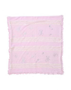 Одеяльце для младенцев LADIA. Цвет: розовый
