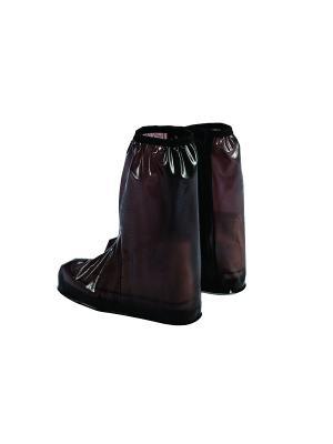 Дождевики для сапог, чёрные, размер XL Homsu. Цвет: черный