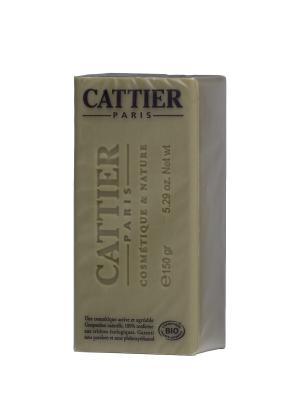 Cattier Мыло Мягкое Натуральное С Зеленой Глиной, Упаковка 150 Г. Цвет: серо-зеленый