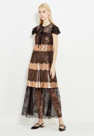 Платье Tresophie. Цвет: золотой