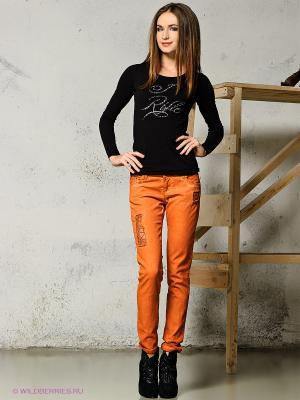 Джинсы MONDIGO. Цвет: оранжевый