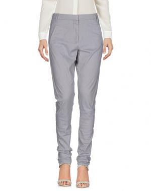 Повседневные брюки FIVEUNITS. Цвет: светло-серый