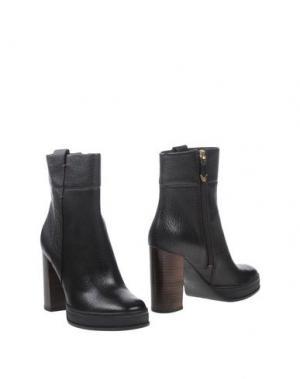 Полусапоги и высокие ботинки WHAT FOR. Цвет: темно-коричневый