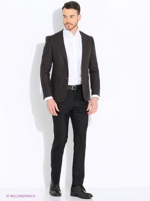 Пиджак BAWER. Цвет: темно-коричневый