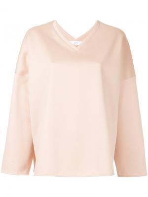 Блузка с V-образным вырезом Astraet. Цвет: розовый и фиолетовый
