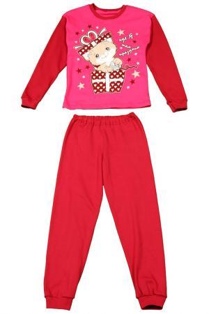 Пижама M&D. Цвет: малиновый
