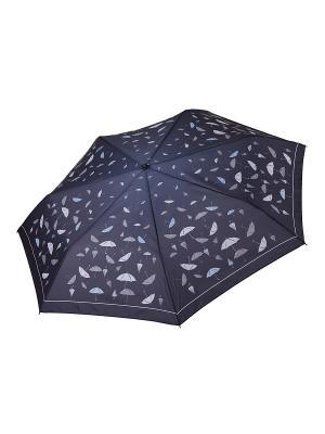 Зонт Fabretti. Цвет: черный