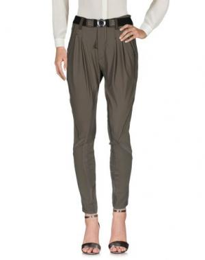 Повседневные брюки HIGH TECH. Цвет: зеленый-милитари