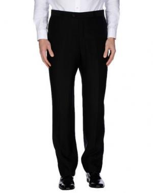 Повседневные брюки MAESTRAMI CERIMONIA. Цвет: черный