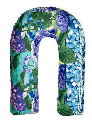 Подушка для беременных Здоровье и комфорт. Цвет: голубой, фиолетовый