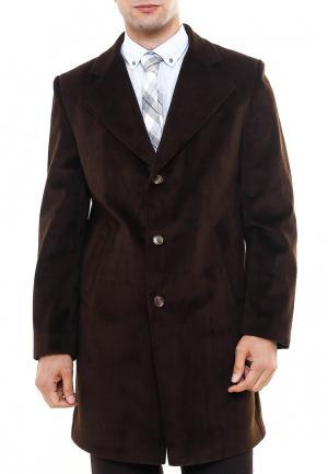 Пальто Wessi. Цвет: коричневый