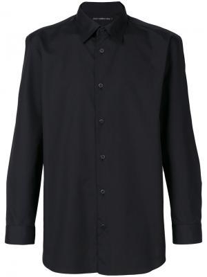Классическая рубашка Issey Miyake Men. Цвет: чёрный