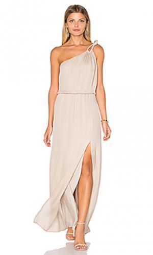 Вечернее платье charleston Rory Beca. Цвет: беж