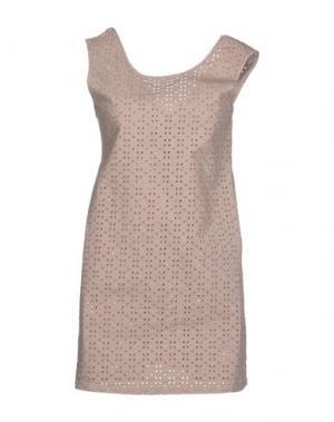 Короткое платье ..,MERCI. Цвет: хаки