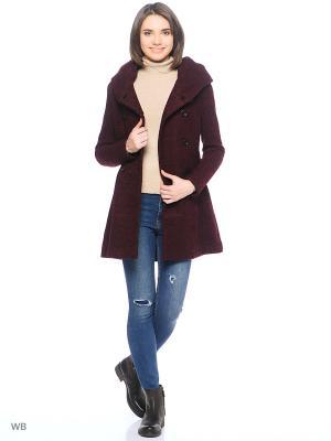 Пальто ONLY. Цвет: красный