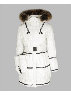 Пальто Arista. Цвет: белый