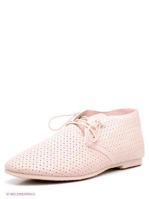 Туфли KEDDO. Цвет: бледно-розовый