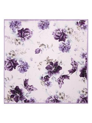 Платок Eleganzza. Цвет: сливовый, бледно-розовый, хаки