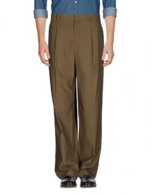 Повседневные брюки 3.1 PHILLIP LIM. Цвет: зеленый-милитари