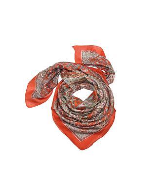 Платок Ethnica. Цвет: оранжевый