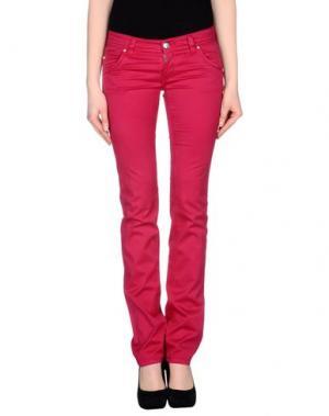 Повседневные брюки RE-HASH. Цвет: фуксия