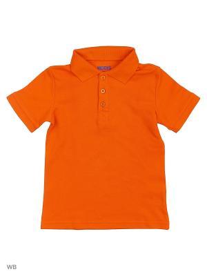 Футболка-поло Modis. Цвет: рыжий, светло-оранжевый
