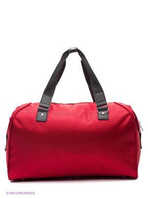 Спортивная сумка UNION. Цвет: красный