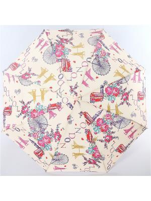 Зонт ArtRain. Цвет: бежевый, розовый
