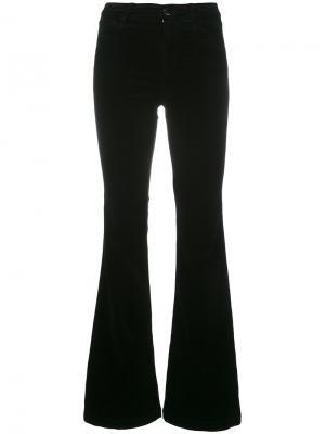 Расклешенные брюки Martin J Brand. Цвет: чёрный