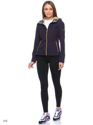 Куртка Stayer. Цвет: темно-фиолетовый, золотистый