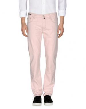 Джинсовые брюки PT05. Цвет: светло-розовый