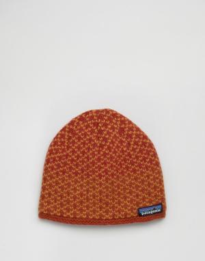 Patagonia Красная шапка-бини Beatrice. Цвет: красный