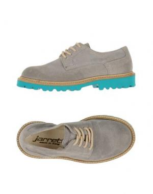 Обувь на шнурках JARRETT. Цвет: светло-серый