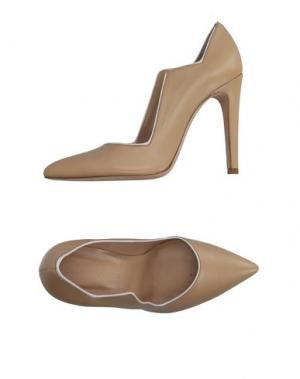 Туфли CHARLINE DE LUCA. Цвет: бежевый