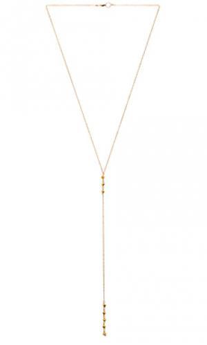 Ожерелье cami Mimi & Lu. Цвет: металлический золотой