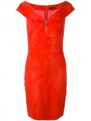 Zip up dress Jitrois. Цвет: красный