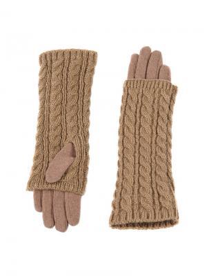 Перчатки Sabellino. Цвет: бледно-розовый