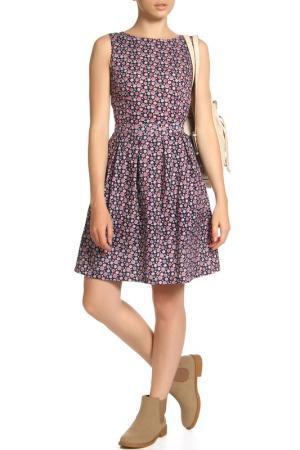Платье LASKANY collezioni. Цвет: аметистовый