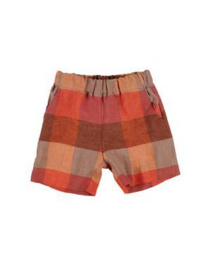 Повседневные брюки LA STUPENDERIA. Цвет: коралловый
