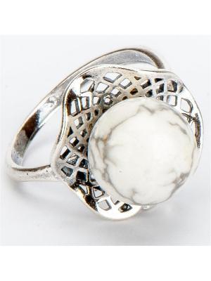 Кольцо Лаватера турквенит Колечки. Цвет: белый