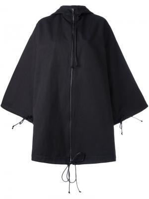 Свободное пальто Toogood. Цвет: чёрный