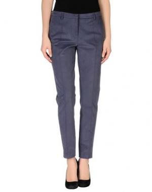 Повседневные брюки TRUE ROYAL. Цвет: грифельно-синий