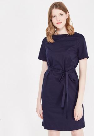 Платье BURLO. Цвет: синий